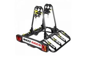 BuzzQuatro - bagażnik na hak, na 4 rowery, odchylany