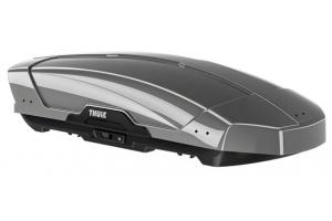 Thule Motion XT M (175 x 86.5 x 46 / 400l) - Srebrny z połyskiem