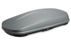 Whispbar WB751S - Box dachowy srebny połysk 400l